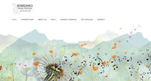 borromeo music festival homepage