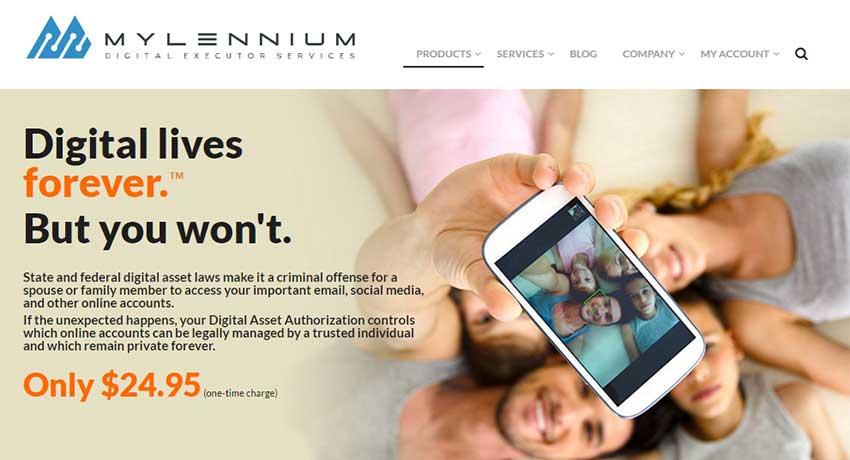 Mylennium homepage