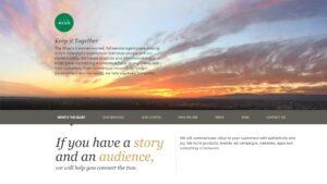 The Glue homepage