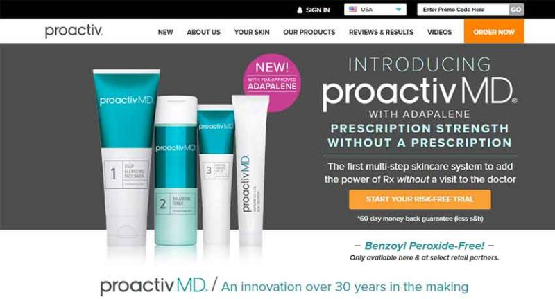 Proactive homepage